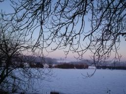 December evening