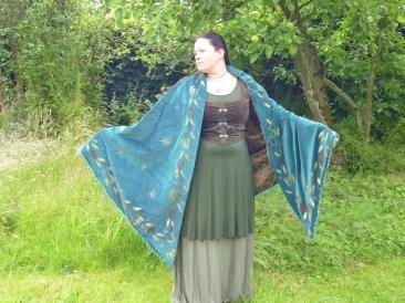 Midsummer Night shawl (already sold)