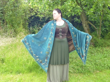 Midsummer Night shawl (already sold)